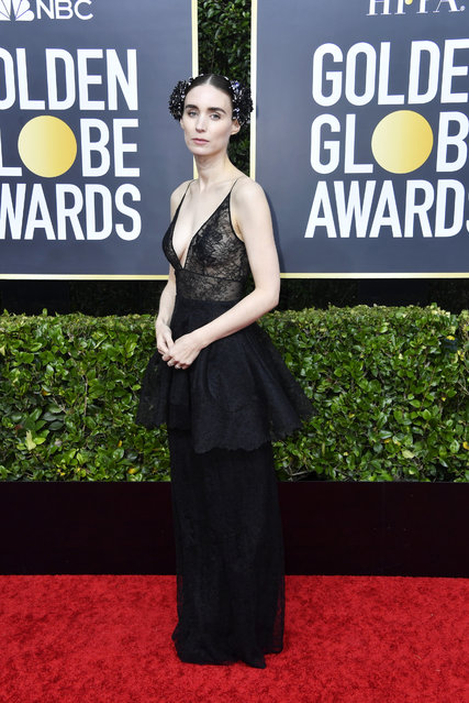 Rooney Mara attends the 77th Annual Golden Globe Awards at The Beverly Hilton Hotel on January 05, 2020 in Beverly Hills, California. (Photo by Frazer Harrison/Getty Images)
