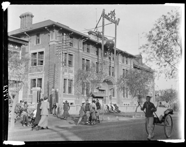 YMCA (Young Men's Christian Association) Building. China, Beijing, 1917-1919. (Photo by Sidney David Gamble)