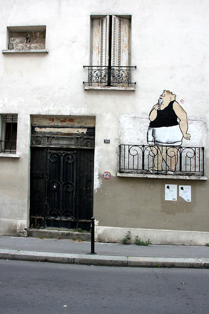 By Ella & Pitr, 2011. Paris. (Photo by oeildetat)