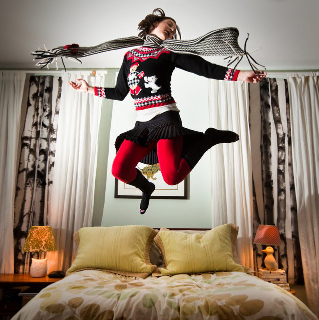 """""""Jumpology"""". """"Don We Now our Gay Apparel"""". (Photo by Steph Goralnick)"""