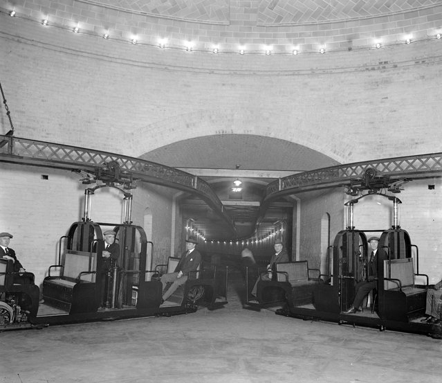 "Senate Subway R.R., between 1920 and 1930"". (Photo by Harris & Ewing Collection)"