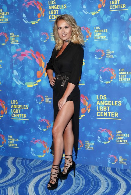 Recording artist Victoria Bech attends the Los Angeles LGBT Center 47th Anniversary Gala Vanguard Awards at Pacific Design Center on September 24, 2016 in West Hollywood, California. (Photo by Rich Polk/Getty Images for Los Angeles LGBT Center)