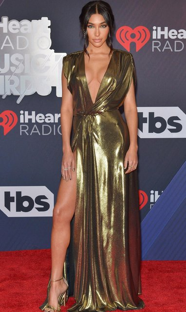 Chantel Jeffries arrives at the 2018 iHeartRadio Music Awards which broadcasted live on TBS, TNT, and truTV at The Forum on March 11, 2018 in Inglewood, California. (Photo by Rachel Murray/Getty Images)