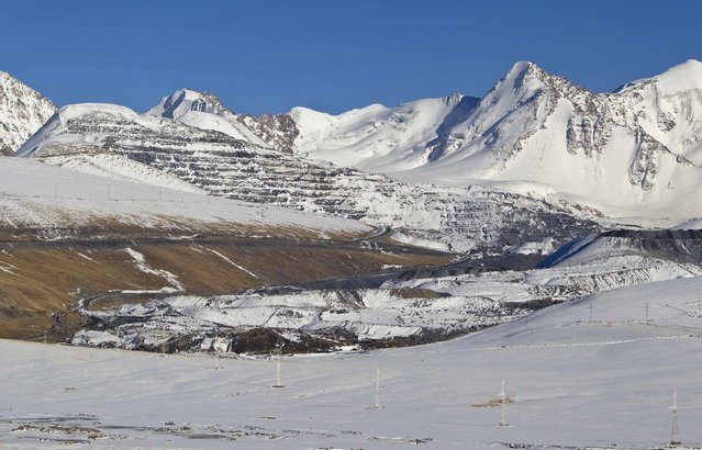Kumtor, Kyrgyzstan's largest gold asset. March 14, 2013; Tien Shan mountains, Kyrgyzstan. (Photo by Shamil Zhumatov/Reuters)