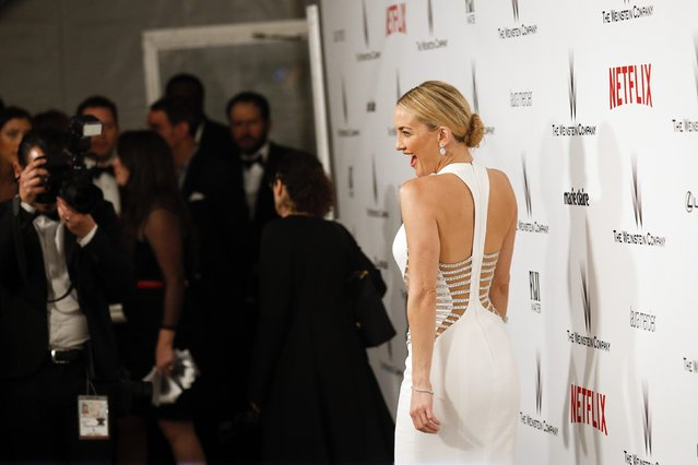 Actress Kate Hudson arrives at the Weinstein Netflix after party after the 72nd annual Golden Globe Awards in Beverly Hills, California January 11, 2015. (Photo by Patrick T. Fallon/Reuters)