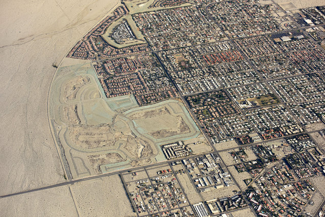 City in the Desert, Palm Springs, California. (Photo by Jassen Todorov/Caters News)