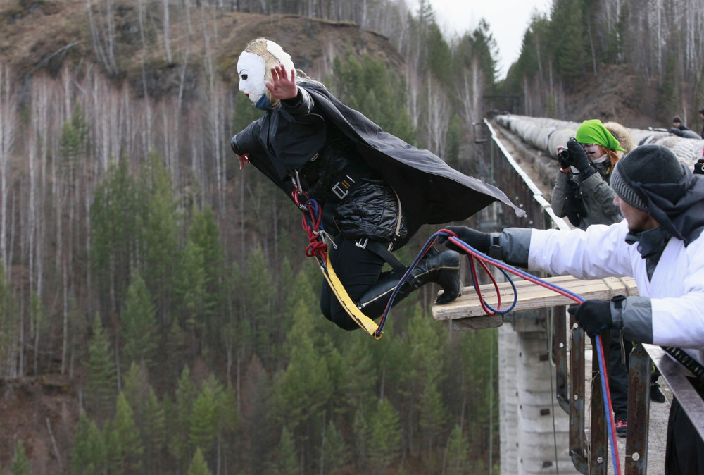 Amateur Rope-Jumping in Russia