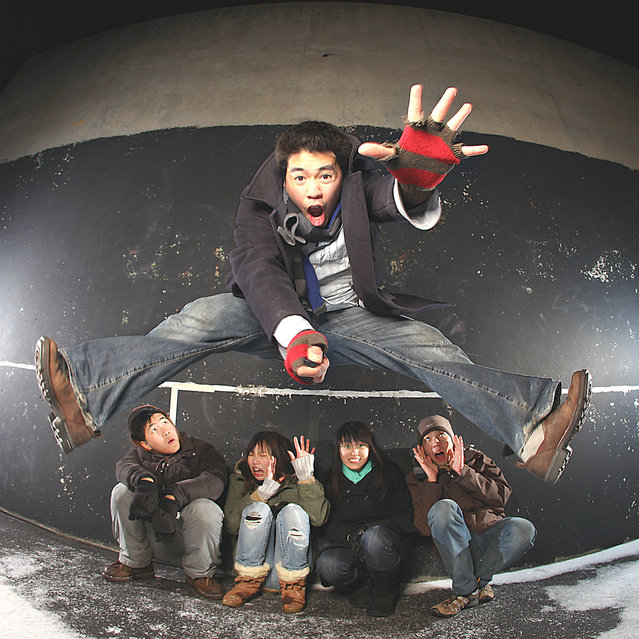 """Jumpology"". ""I jus' wanna Jump!"". (Photo by moiht)"