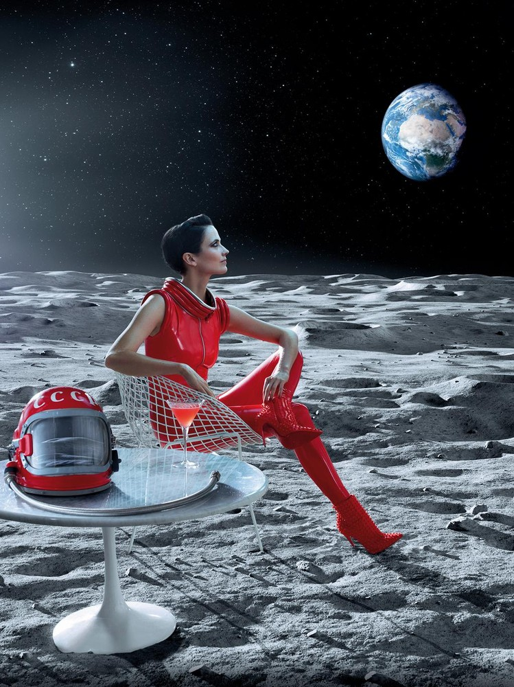 """Eva Green Dazzles in Red in Campari Calendar 2015 Dubbed """"Mythology Mixology"""""""