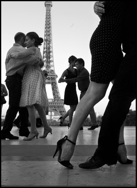 Happy Valentines Day. (Photo and comment by Peter Turnley)
