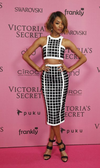 Model Jourdan Dunn poses after the 2014 Victoria's Secret Fashion Show in London December 2, 2014. (Photo by Luke MacGregor/Reuters)