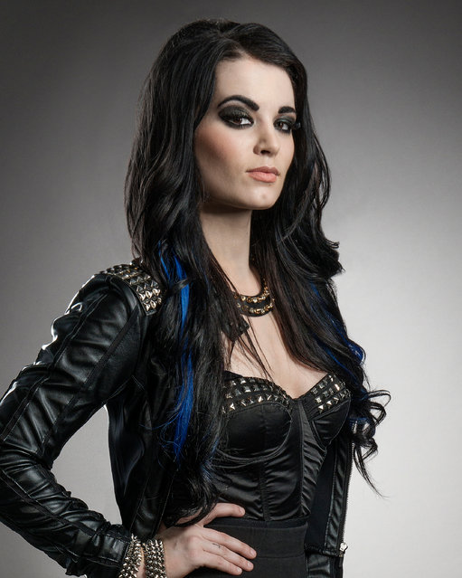 English professional wrestling personality Saraya-Jade Bevis, better known by the ring name Paige at WWE Tough Enough Season 6 on November 11, 2014. (Photo by Scott McDermott/USA Network/NBCU Photo Bank/NBCUniversal via Getty Images)