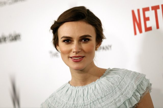 Actress Keira Knightley arrives at the Weinstein Netflix after party after the 72nd annual Golden Globe Awards in Beverly Hills, California January 11, 2015. (Photo by Patrick T. Fallon/Reuters)