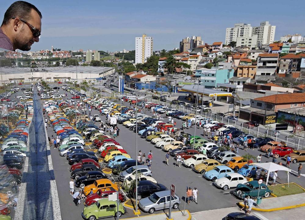 Volkswagen Beetle Owners' Meeting in Brazil