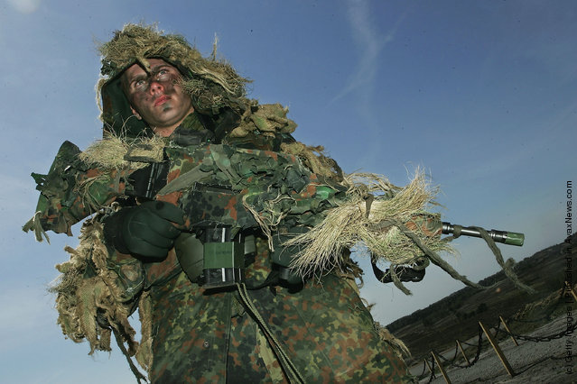 German army sniper