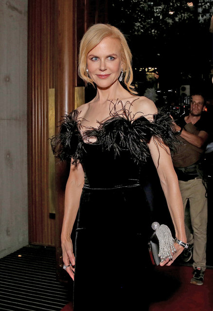 """Nicole Kidman arrives ahead of the Swisse Wellness """"Power Your Passion"""" Event on March 25, 2017 in Melbourne, Australia. (Photo by Nicole Cleary/Getty Images)"""
