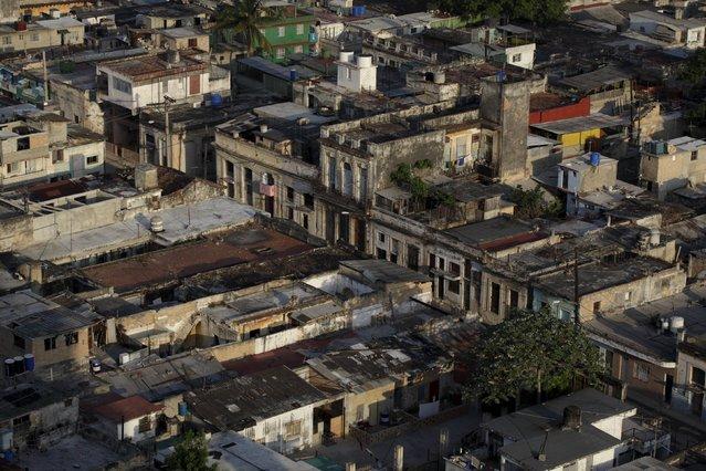 A general view of Havana City April 15, 2015. (Photo by Enrique De La Osa/Reuters)
