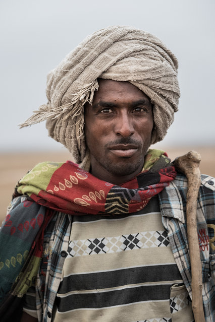 The Afar people have a monopoly on the Danakil Depression and every merchant must stop and pay a fee for each dromedary, mule and donkey in their caravan before leaving. (Photo by Joel Santos/Barcroft Images)