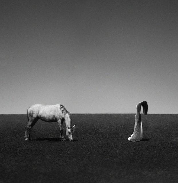 Pretending. (Noell S. Oszvald)