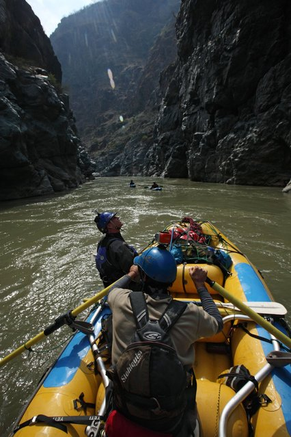 September 19, 2012 – Peru – Amazon Express expedition in Peru. (Photo by Erich Schlegel/zReportage via ZUMA Press)
