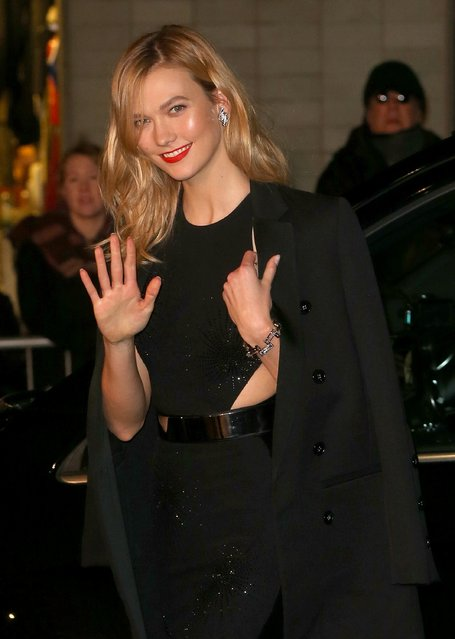 Karlie Kloss attends The Fashion Awards 2016 at Royal Albert Hall on December 5, 2016 in London, England. (Photo by Danny E. Martindale/Getty Images)