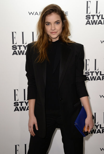 Barbara Palvin attends the Elle Style Awards 2014 at one Embankment on February 18, 2014 in London, England. (Photo by Ian Gavan/Getty Images)