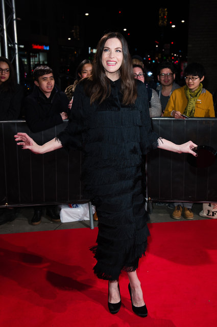 Liv Tyler attends The Naked Heart Foundation's London's Fabulous Fund Fair on February 21, 2017 in London, United Kingdom. (Photo by Jeff Spicer/Getty Images)