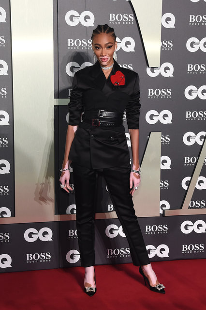 Winnie Harlow attends GQ Men Of The Year Awards 2019 in association with HUGO BOSS at Tate Modern on September 03, 2019 in London, England. (Photo by David M. Benett/Dave Benett/Getty Images for Hugo Boss)