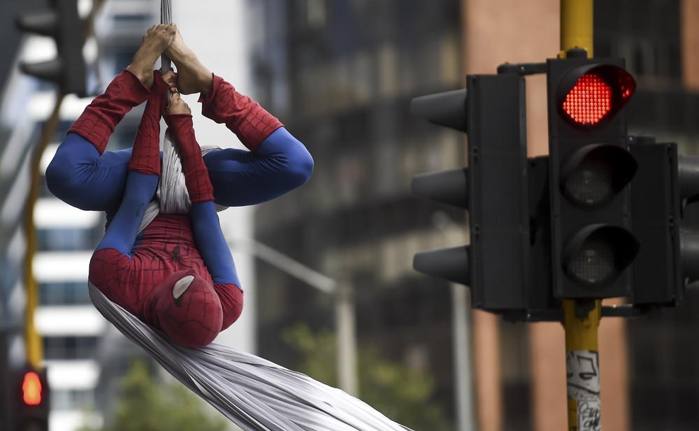 "Colombian ""Spiderman"""
