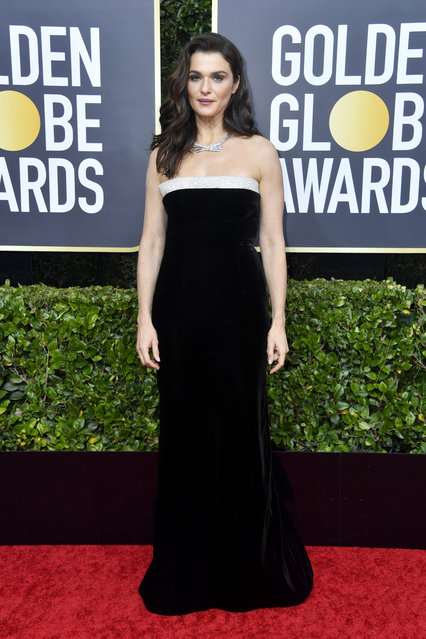 Rachel Weisz attends the 77th Annual Golden Globe Awards at The Beverly Hilton Hotel on January 05, 2020 in Beverly Hills, California. (Photo by Frazer Harrison/Getty Images)