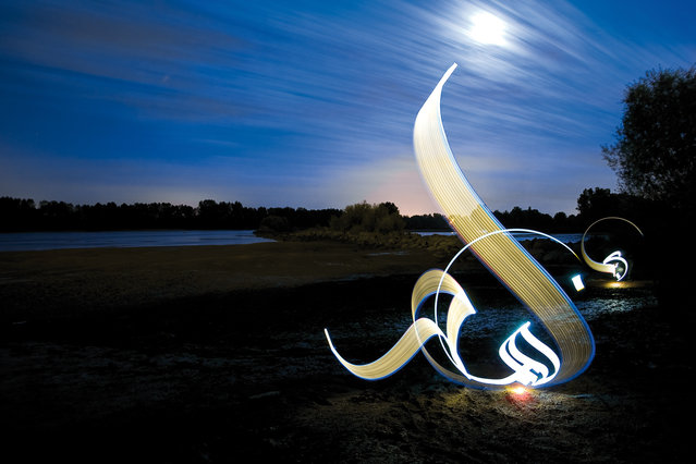Light Calligraphy By Julien Breton