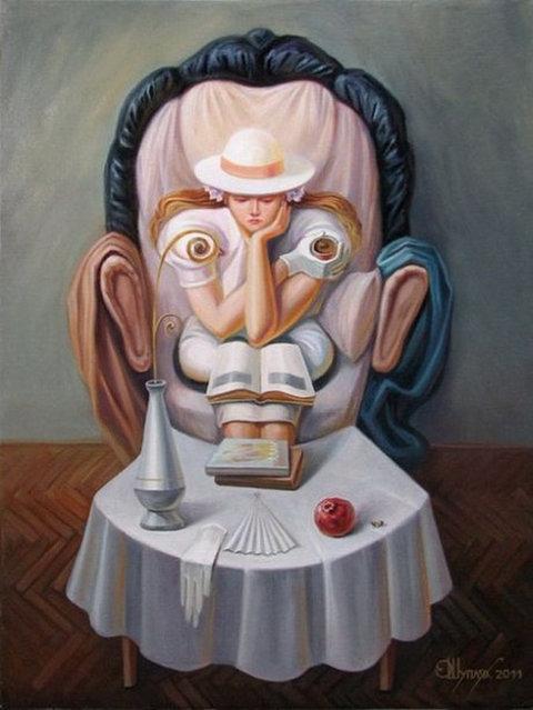 Optical Illusion Art By Oleg Shuplyak