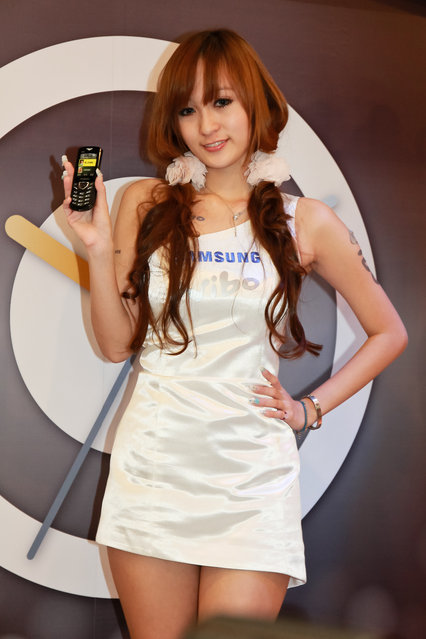 Asian Beauty: Hot Promotional Models in Taipei, Taiwan. Taipei IT Month 2010