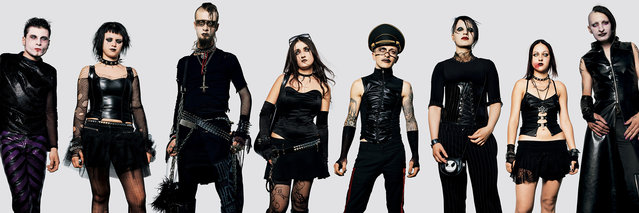 Marilyn Manson fans. (Photo by James Mollison)