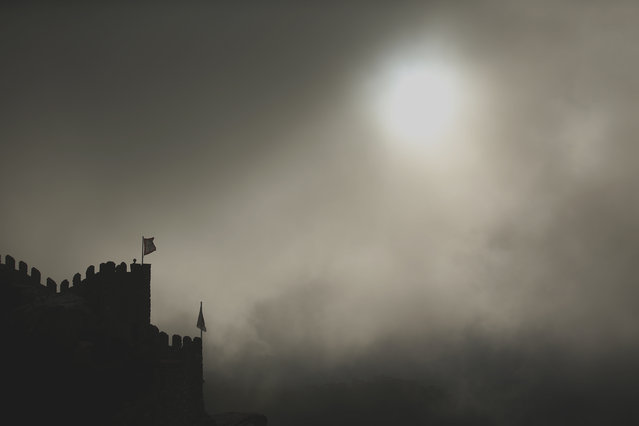 A general view of the royal towers at Moorish Castle in Sintra October 8, 2014. (Photo by Rafael Marchante/Reuters)