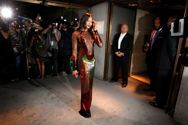 Model Naomi Campbell arrives to attend a presentation of Tom Ford's Autumn/Winter 2016 collections during New York Fashion Week in the Manhattan borough of New York, U.S., September 7, 2016. (Photo by Lucas Jackson/Reuters)