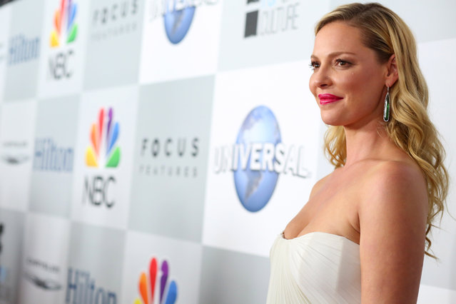 Katherine Heigl seen at the Universal, NBC, Focus Features, E! Entertainment Golden Globes After Party Sponsored by Chrysler and Hilton on Sunday, January 11, 2014, in Beverly Hills. (Photo by Alexandra Wyman/Invision for Focus Features/AP Images)