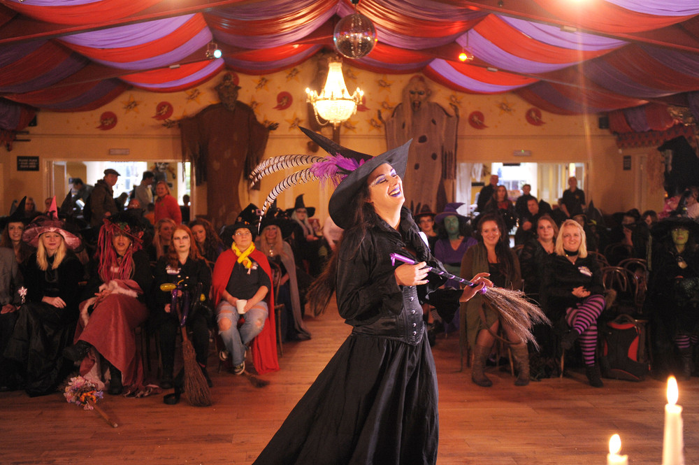 Wookey Hole Caves Witch Auditions