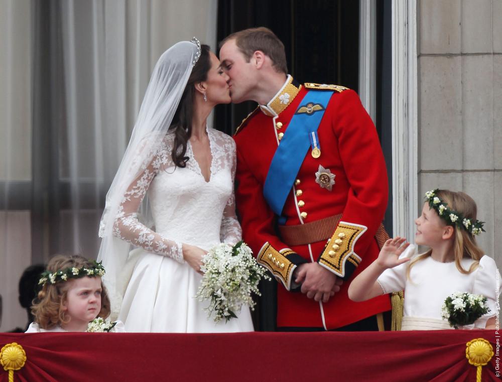 Royal Wedding: The Newlyweds Greet Wellwishers From The Buckingham Palace Balcony