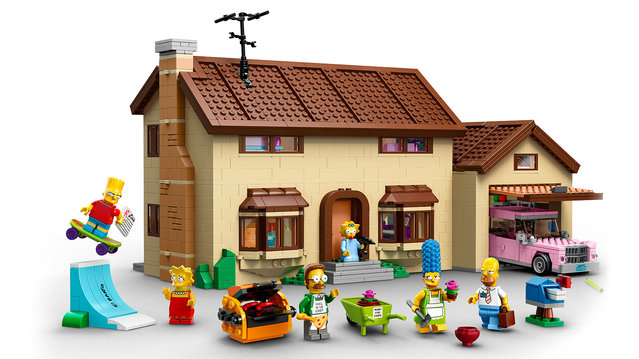 Official The Simpsons LEGO Set