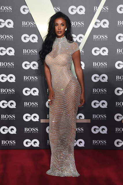 Maya Jama attends GQ Men Of The Year Awards 2019 in association with HUGO BOSS at Tate Modern on September 03, 2019 in London, England. (Photo by David M. Benett/Dave Benett/Getty Images for Hugo Boss)