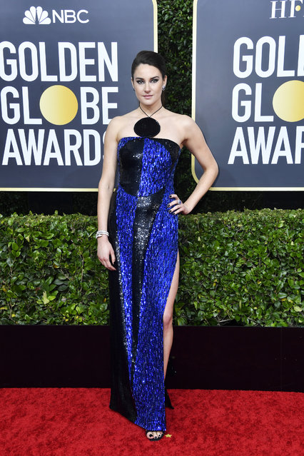 Shailene Woodley attends the 77th Annual Golden Globe Awards at The Beverly Hilton Hotel on January 05, 2020 in Beverly Hills, California. (Photo by Frazer Harrison/Getty Images)