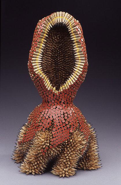 Pencil Sculptures - by Jennifer Maestre