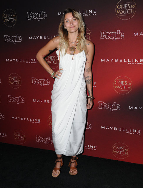 """Celebrities at the 2017 People's """"One's to Watch"""" event held at NeueHouse Hollywood in Hollywood, California, USA on October 5, 2017. (Photo by  AdMedia/Splash News and Pictures)"""