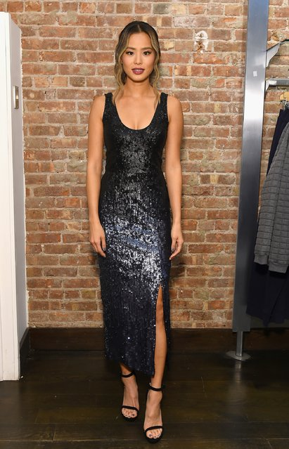 Jamie Chung attends the French Connection holiday 2016 event on December 8, 2016 in New York City. (Photo by Ben Gabbe/Getty Images for French Connection)