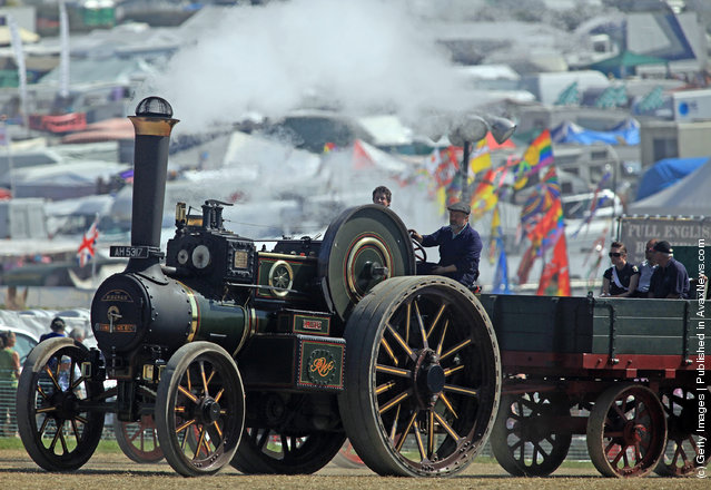 Steam Fair In Blandford