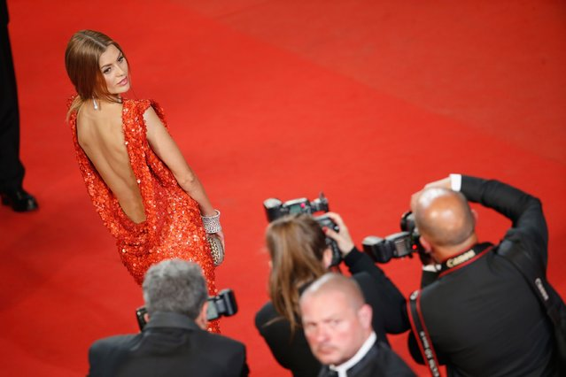 "Victoria Bonya attends the Premiere of ""Mon Roi"" during the 68th annual Cannes Film Festival on May 17, 2015 in Cannes, France. (Photo by Tristan Fewings/Getty Images)"