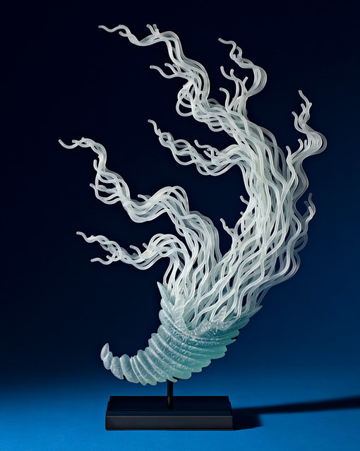 Glass Sculptures By K. William LeQuier
