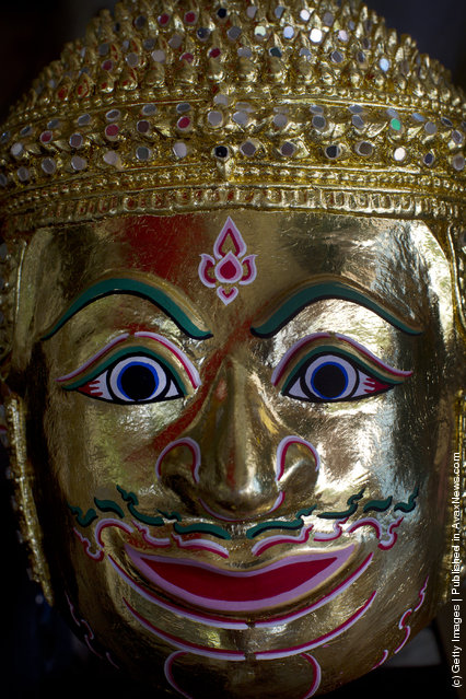 Traditional Thai Khon Mask