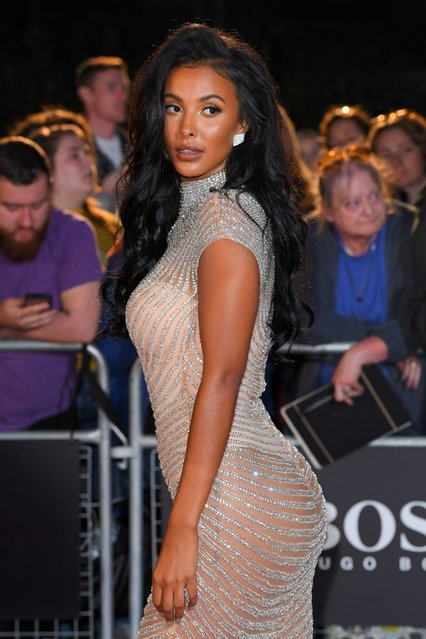 Maya Jama attends the GQ Men Of The Year Awards 2019 at Tate Modern on September 03, 2019 in London, England. (Photo by David Fisher/Rex Features/Shutterstock)